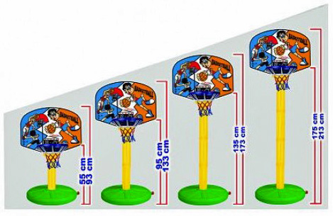 basketballkorb basketball basket korb basket basketballst nder mitwachsend ebay. Black Bedroom Furniture Sets. Home Design Ideas