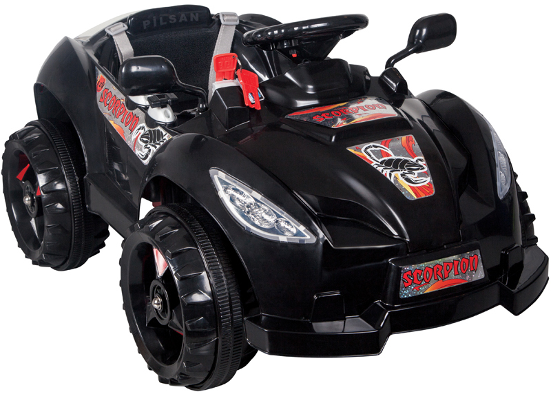 12v pilsan scorpion kinderauto elektroauto kinderfahrzeug mit fernbedienung r c ebay. Black Bedroom Furniture Sets. Home Design Ideas